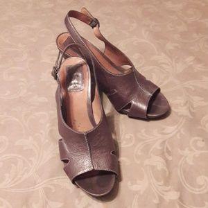 Clark's Artisan Leather Sandals Heels
